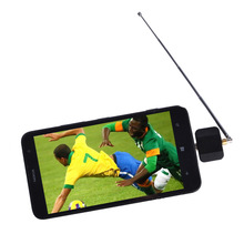Hot sale DVB-T2 DVB-T TV receiver for Android Phone or Pad Watch Live-TV Micro USB TV tuner(China)