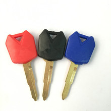 3 pcs Motorcycle Blank Key Uncut Blade For Kawasaki ZX-6R ZX-9R ZX-10R ZZR250 ZXR400 ZZR400 ZZR600 ER-6N ER6F