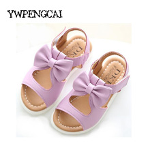 New arrival girls sandals fashion summer child shoes high quality cute girls shoes design casual kids sandals(China)