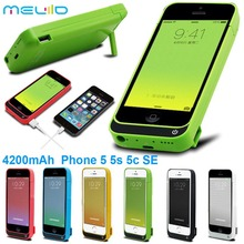 4200mAh Portable Backup External Battery Charger Case Power Bank Pack Charging Cases Cover For iPhone 5 5S 5C SE Battery case