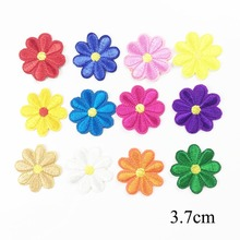 Buy Mix Flower Patch Embroidery Iron Patches Clothing Iron Stickers Clothes Appliques Garment DIY Sewing Badges for $1.99 in AliExpress store