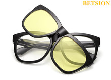 Clip On Polarized Reading Glasses Sunglasses Magnet Frame +100 +125 +150 +175 +200 +225 +250 +275