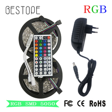SMD 2835 RGB LED Strip DC 12V 5050 LED Light Strip 5M 10M Waterproof Flexible Ribbon rgb Neon Tape Luz For Home Lighting