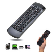 2.4G Mini Wirless Keyboards Russian Keyboard i25 Air Mouse with IR Remote Control Fly Mouse For HTPC PC Android TV Box For PS3