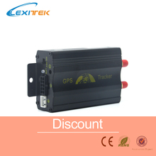 GPS GPRS SMS Original Coban Real-time tracker TK103A Quad band SD card slot anti-theft move alarm by SMS