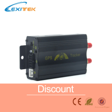 GPS GPRS SMS Original Coban Real-time tracker TK103A Quad band SD card slot anti-theft move alarm by SMS(China)