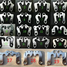 Wholesales Alloy Bike Rear Derailleur Hanger Road Racing / MTB Mountain Cycling Bicycle Frame Tail Hook Lug Screws Bicycle Parts