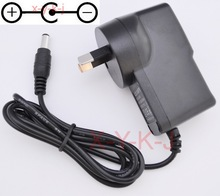 1PCS High quality AC/DC 9V 1A Switching Power Supply adapter Reverse Polarity Negative Inside AU plug 5.5mm x 2.1mm-2.5mm(China)