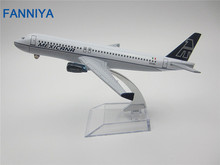 16cm Metal Plane Model Air MEXICANA A320 Airlines Airbus 320 Airways Aircraft Airplane Model w Stand Craft Gift
