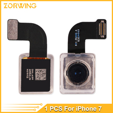 1pcs New Original Back Rear Camera for iPhone 7 7G 4.7 inch Big Camera Module Flex Cable Ribbon Replacement Repair Part