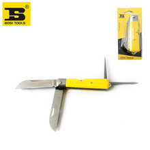 wholesale BOSI 4 in 1 multi functional electrician's saw knife folding cutting blades