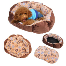 Pet Dog Cat Soft Bed Comfortable Puppy Plush House Nest Sleep Warm Hot Sale Puppy Dog Soft Sofa Dog Bed Goods for Pets Hot Sale
