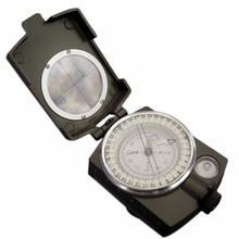 New Lensatic Compass Military Camping Hiking Metal Survival Marching New Brand