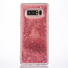 Buy Samsung Note 8 Case Dynamic Liquid Bling Glitter Quicksand Cover Galaxy Note 8 Moving Star Soft Silicone Tpu Case for $3.77 in AliExpress store