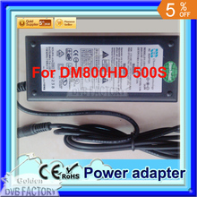 power adapter for 800hd DM500s satellite receiver (1pc power adapter for 800HD)(China)