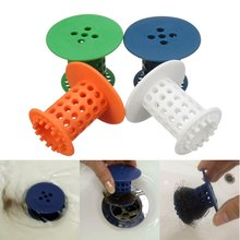 Shower Drain Hair Catcher Stopper Clog Sink Strainer Bathroom Shower kitchen Drain Net Cleaning Protector Filter Accessories