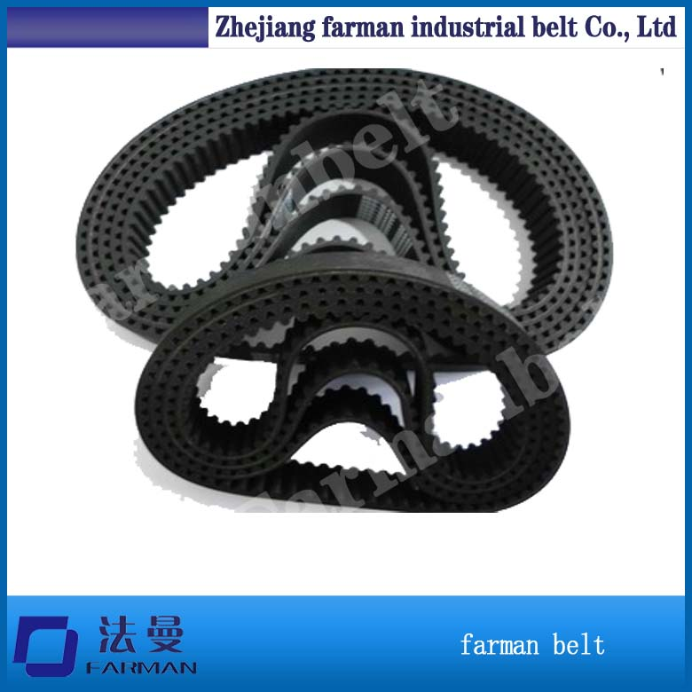 Industrial Timing Belt T5 T10 At5 At10 Custom Made Timing Belt Red Rubber Coated Pu Timing Belt<br>
