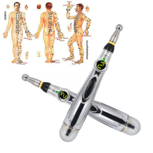 New Electronic Acupuncture Pen Pain Relief Therapy Pen Safe Meridian Energy Heal Massage Body Head Neck Leg Health Massageadores