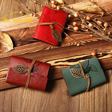 20 Slot PU Leather Women Card Holder Wallet Bag Pouch Anti Degaussing Vintage Credit Card Purse Notebook With Hollow Leaf Buckle