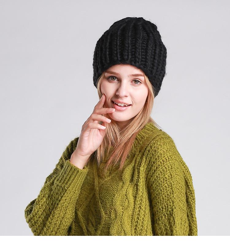 Hand-knit hats women thick winter silk hemp wool knit hat multi-colorОдежда и ак�е��уары<br><br><br>Aliexpress