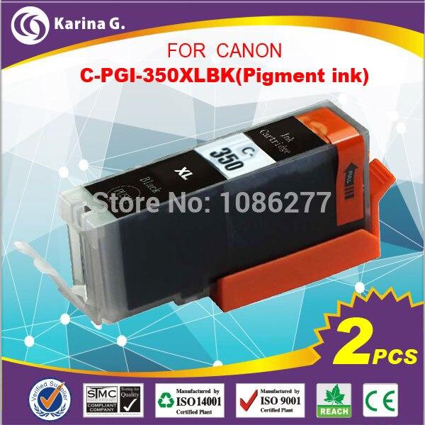 pigment inks  for CANON PGI-350xl PGI350 PGI 350 2PCS A LOT high quality .more good performance<br><br>Aliexpress