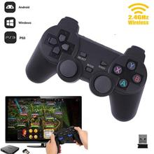 2.4G Wireless Smart Gamepad PC For PS3 Smartphone Joystick Joypad Game Controller Remote For Xiaomi Android TVbox PC win7 8 10(China)