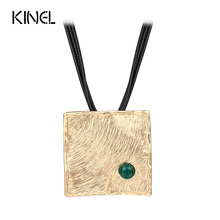 LY Vintage Jewelry  Necklace For Women Hand Lucky Pattern Color Gold Accessories 2016 New Gift