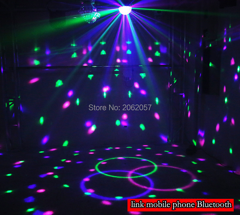 fast shipping Disco ball 256 carfacetadoras lens crystal ball wireless bluetooth projectors for christmas dj wedding party rotating laser light (15)