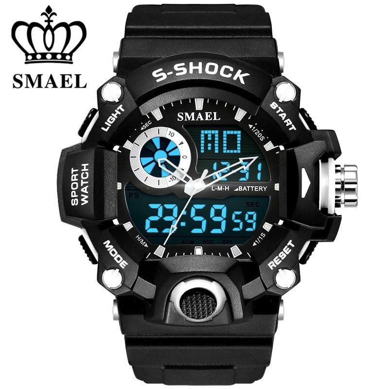 Hot Sale Relojes Hombre Men Quartz Digital Watch Men G Sports 5 Bar Waterproof Quartz Led Outside Sport Watches Mens Reloj Army<br><br>Aliexpress