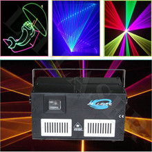 4.5w rgb animation laser nightclub light rgb for sales full color beam&animation programmable sd card player light(China)