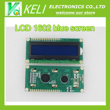 LCD 1602 blue screen Character Display Module Blue Blacklight New 16X2 Original 100% - KELI Electronics Technology Co., Ltd store