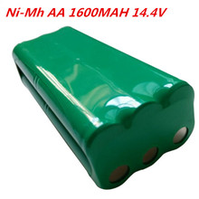 Battery 14.4v ni-mh rechargeable 14.4v AA 1600mah Nimh battery pack fo Papago S30C intelligent sweeping robot VONE T285D cleaner(China)