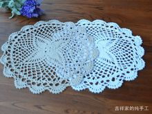 News Arrival 100% Cotton Shabby Chic Vintage Look Crocheted Doilies Wedding Decoration Bar/Kitchen supplies Free ship 24PCS/lot
