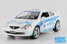 1PC 12.5cm Kinsmart Alloy model car toys 1:36 Honda 8th racing car children gifts