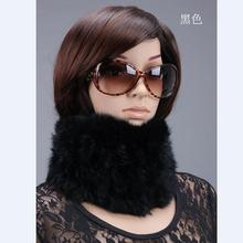 Women's New Sale Fur Scarves 100% Collar Velvet Rabbit Warm Style Woman Winter 2014 Various Color Scarf Min Order $8,mix Ok(China)