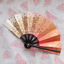 "OOAK Red Sakura Floding Fan Japan Kimono Style For 1/3 24"" Tall BJD doll SD SD13 MSD DK DZ AOD DD Doll use(China)"