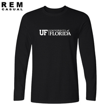 UF University of Florida t shirt baseball jersey s college wear men Long sleeve cotton high quality