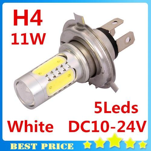 3pcs/lot Led H4 11W LED Fog Light Car High Power Super Daytime Running Light Bulbs White Lamp Led Car Led Bulb 12V FREE SHIPPING<br><br>Aliexpress
