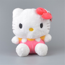 "Classical Pink Hello Kitty Stuffed Plush Toy,  12"" Baby Kids KT Doll Gift Free Shipping"