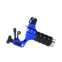 Tattoo Machine Set Pro Aircraft Alu Rotary Tattoo Machine blue Color Stigma Prodigy Tattoo Guns For Tattoo Supplies