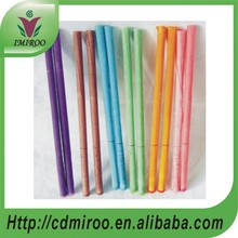 100 pairs Eight kinds of color and efficacy 100% Round-shaped beeswax ear candle(China)