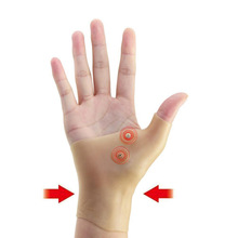 Wrist Support Protective Left Right Hand Wrist Protector Soft Women Brace Wrap 1PC Sprain Silicon(China)
