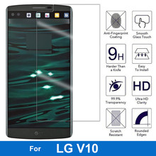 Screen Protector 9H Hardness Tempered Glass for LG V10 H960 H968 H961N Vs990 HPF F600 F600S Dual Sim