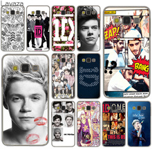 Lavaza One Direction 1D Harry Zayn Hard Case Cover for Samsung Galaxy S8 Plus S3 S4 S5 & Mini S7 Edge S6 Edge Plus(China)