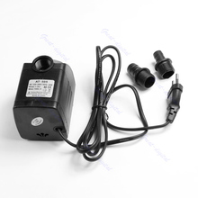 220V 20W 1000L/H Submersible Fountain Air Fish Tank Aquarium Water Pump EU Plug(China)