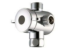 "3 way Shower Head Diverter Valve -G1/2"" Three Way T-adapter Valve for Toilet Bidet 04-049(China)"