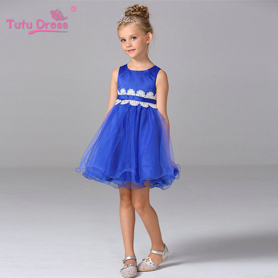Flower Girl Princess Bow Dress Toddler Wedding Party Pageant Tulle Dresses For 3 4 5 6 7 8 9 10 11 Years<br><br>Aliexpress