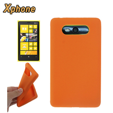On Sale High Quality Big Order Pure Color Mobile Phone Silicone Case Cover Shell for Nokia Lumia 820