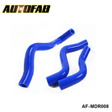 AUTOFAB-Silicone Intercooler Radiator Hose Kit High Temp Piping For Mazda RX8 SE3P (3pcs) AF-MDR008(China)