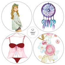 Alideco Japanese Paper Washi Tapes Cute Dreamcatcher Flower Masking Tapes Decoration Adhesive Tapes stickers stationery 15cm*10m
